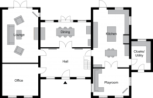 Quorn Floor Plan before grey